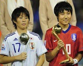 Японская футболистка сыграла как Марадона