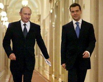 Россияне назвали привлекательные и отталкивающие черты Путина и Медведева