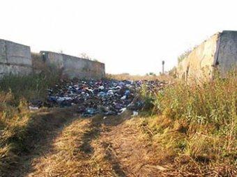 Гуманитарную помощь для погорельцев выбросили на свалку