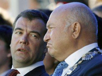 Лужков открыто вступил в полемику с Медедевым по Химкинскому лесу