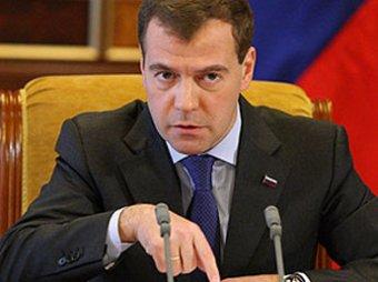 Медведев впервые уволил за недостоверные данные о доходах