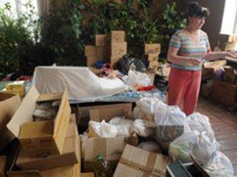 Под Саранском найдена еще одна свалка с гуманитарной помощью