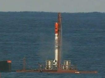 Первый запуск в космос самодельной ракеты провалился