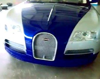 Казахские автолюбители превратили BMW в Bugatti Veyron