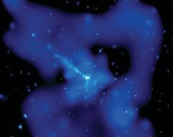 """NASA зафиксировала """"космическое привидение"""" огромной черной дыры"""