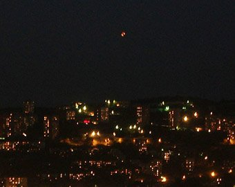 Во Владивостоке НЛО засняли на камеру