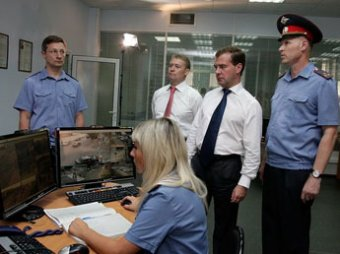 Медведев внес на рассмотрение закон о полиции