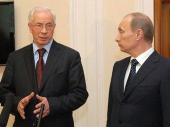 Азаров объявил незаконным газовый договор Путина и Тимошенко