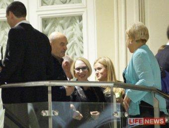 Медведев посетил юбилей Никиты Михалкова