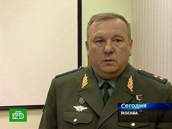 Командующий ВДВ генерал Шаманов попал в автокатастрофу