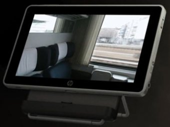 HP представила первый планшетный компьютер с Windows 7