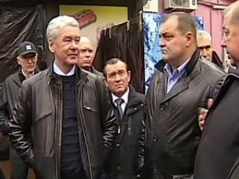 После объезда Москвы Собянин уволил двух глав районов