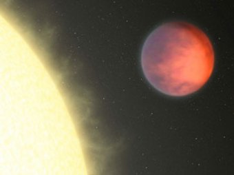 """На экзопланете найдено аномальное """"горячее пятно"""""""