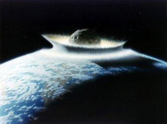 Человек появился на Земле из-за гигантского астероида