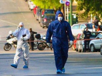 У здания посольства России в Афинах произошел взрыв
