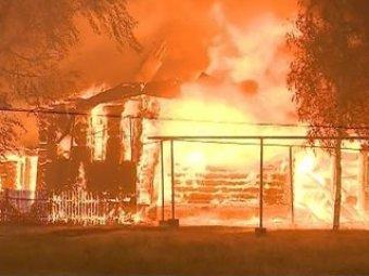 В жилом доме на Кубани убили и сожгли семью из 12 человек