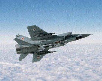 Под Пермью разбился истребитель Миг-31