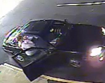 Родители спасли ребенка при угоне машины