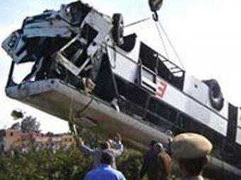 В Египте разбился туристический автобус: 8 погибших, из них 4 россиян