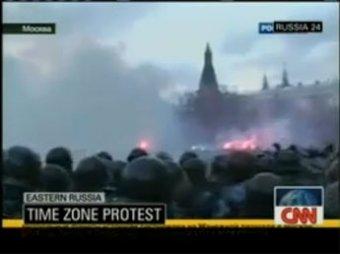 """CNN назвал """"истинную"""" причину беспорядков на Манежной"""