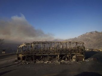 Пожары в Израиле: около 40 погибших. Россия послала авиацию