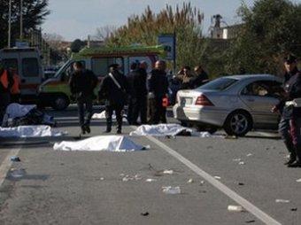 Страшное ДТП в Испании: водитель сбил насмерть семь велосипедистов