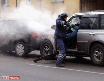 На Садовом кольце джип протаранил 20 авто. Пьяного лихача едва не линчевали водители