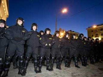 В Белоруссии спецназовцы избили 79 переодетых в гражданское «омоновцев»