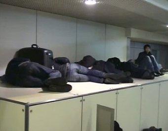 В столичных аэропортах скопилось около 20 тысяч пассажиров