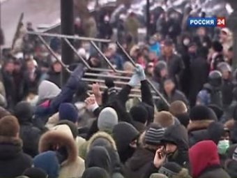 Организатором беспорядков на Манежной площади оказался 8-классник