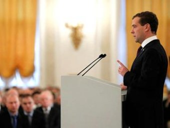 СМИ: Медведев остался недоволен своим посланием федеральному собранию