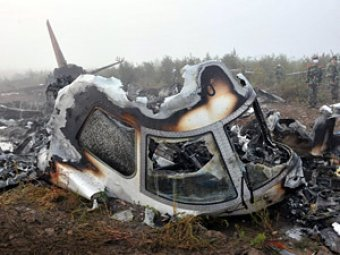Крушение АН-22 в Тульской области: 12 погибших