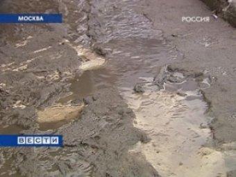 На Москву надвигается рождественское тепло с ливнями