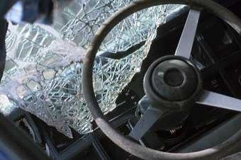 В Калмыкии грузовая «Газель» протаранила пассажирский автобус