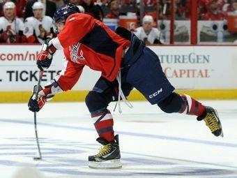 Александр Овечкин выиграл конкурс буллитов в НХЛ