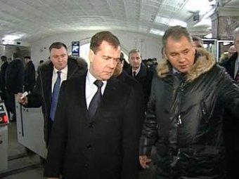 Система безопасности работала, пока Медведев не вышел из метро