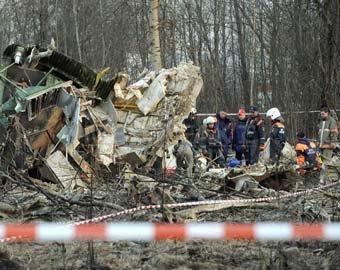 МАК реконструировал последний полет Ту-154 с Качиньским