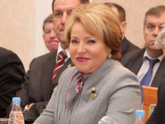 Матвиенко посоветовала детям и старикам, которые боятся сосулек, сидеть дома