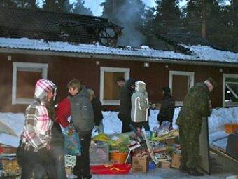 В Эстонии сгорел детский дом: 10 детей погибли