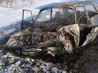 В Самарской области сожгли три прокурорские машины