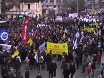 В Турции начались антиправительственные наступления