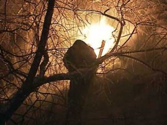 В Москве сгорело здание судебных приставов: документы пожарные не спасали