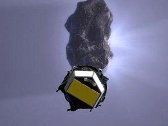NASA сделали уникальные снимки кометы с расстояния всего 180 км