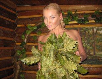 Анастасия Волочкова снова обнажилась. На этот раз в бане