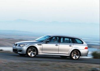 В Германии BMW-универсал разогнался по автобану до 359 км/ч