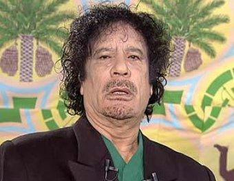 Каддафи на 20 секунд появился в эфире ливийского ТВ
