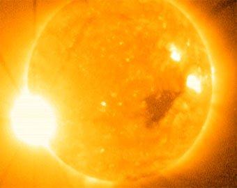 На Солнце произошла вспышка максимальной мощности