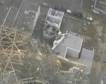 """Опубликованы уникальные кадры с вертолета, облетевшего """"Фукусиму-1"""""""