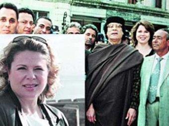 Любимая медсестра Каддафи устроила пьяный дебош в самолете