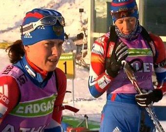 Российские биатлонисты провалили эстафету на ЧМ